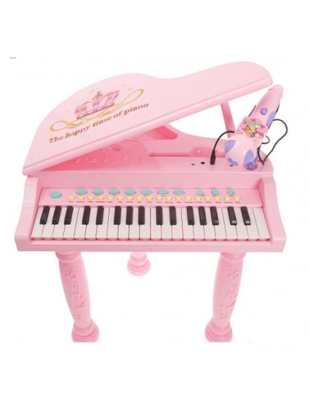 Детский рояль с MP3 My Piano цвет: розовый (6615B)