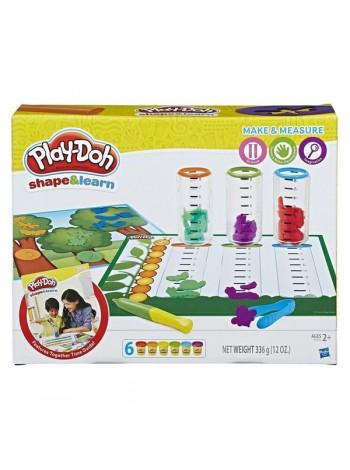 """Детский игровой набор с пластилином """"Лепи и измеряй"""" Play Doh (B9016)"""