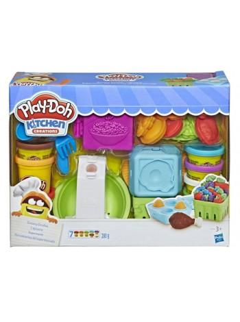 """Детский игровой набор с пластилином """"Готовим обед"""" Play Doh (E1936)"""