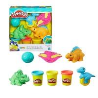 """Детский игровой набор с пластилином """"Play-Doh """"Малыши-Динозаврики"""" Play Doh (E1953)"""