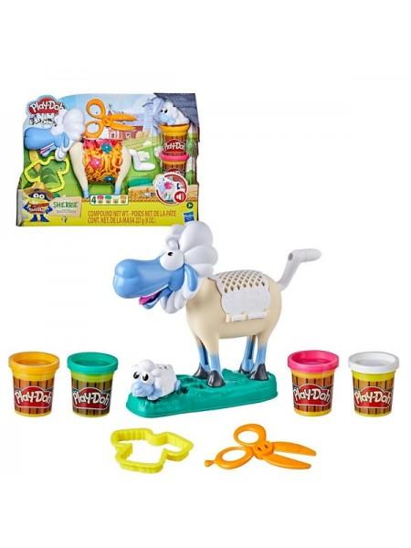 """Детский игровой набор с пластилином """"Игровой набор Play-Doh Animals Овечка"""" Play Doh"""