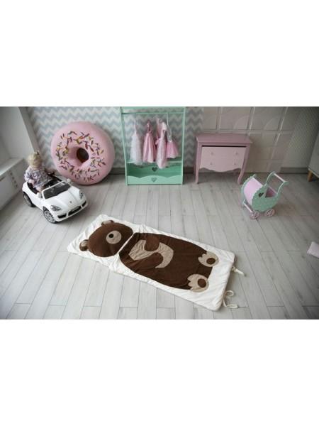 """Детский спальник 4 в 1 """"Мишка Копат"""" размер 120*60"""