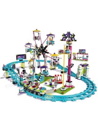 """Детский игровой набор конструктор """"Парк развлечений: Американские горки""""/ Bela Friends 1136 деталей  10563"""