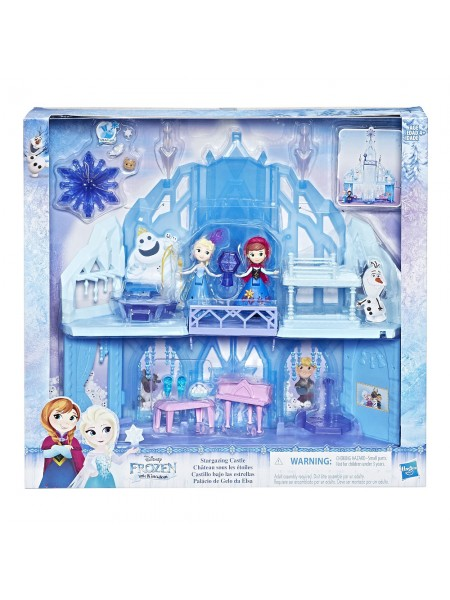 """Детский игровой мини-набор """" Дворец Эльзы: Холодное сердце """" Hasbro \ Хасбро E1755"""
