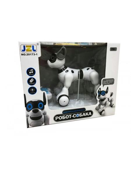 Интерактивная робот собака на радиоуправлении,световые и звуковые эфферты