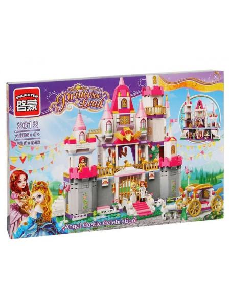 """Детский игровой набор конструктор """" Princess Leah Замок принцессы""""/ Brick 938 деталей 2612"""
