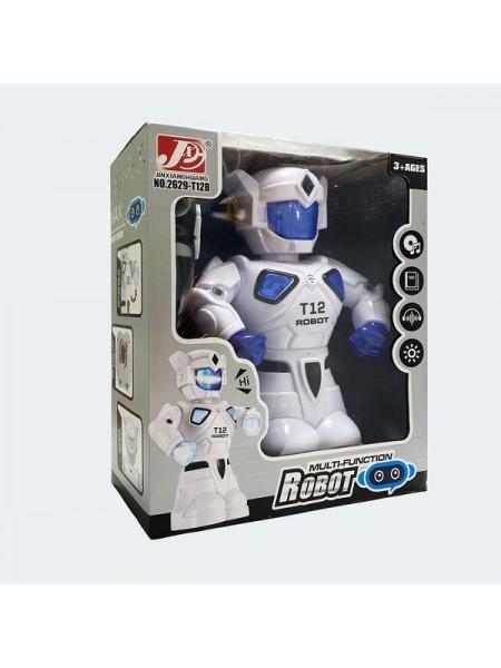 Интерактивный робот-воин на радиоуправлении,световые и звуковые эфферты (2629-T12B)