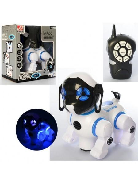 Интерактивный робот-собака на радиоуправлении,световые и звуковые эфферты (2629-T9B)