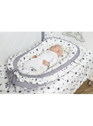 """Детский кокон-колыбель-гнездышко для новорожденного """" Звездочет """"4061"""