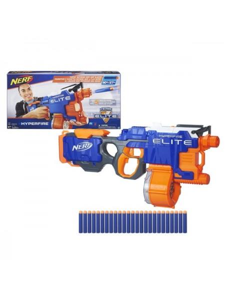 """Детский игровой набор оружия """" Бластер Nerf Elite Hyperfire""""  Hasbro/Хасбро B5573"""