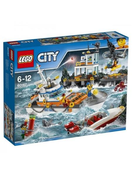 """Детский конструктор Lego City \ Лего Сити """" Штаб береговой охраны  """" 60167"""