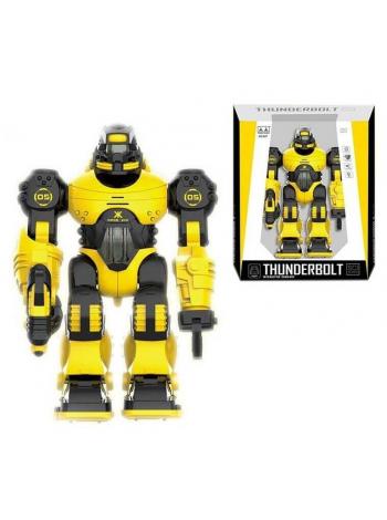 Детский интерактивный робот на батарейках цвет: желтый (607)