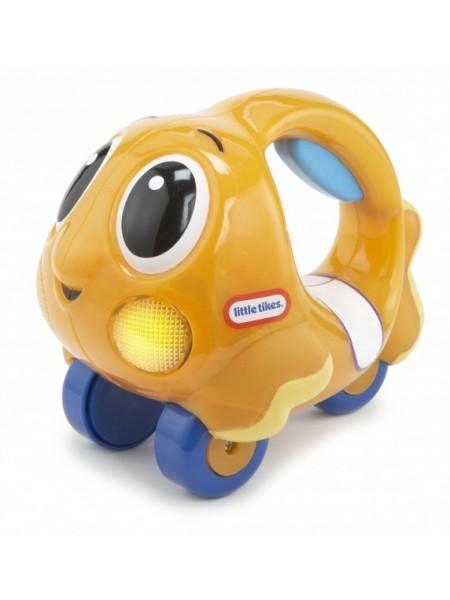"""Детская музыкальная развивающая игрушка """" Рыбка-каталка"""" со звуком и светом (639739E4C)"""