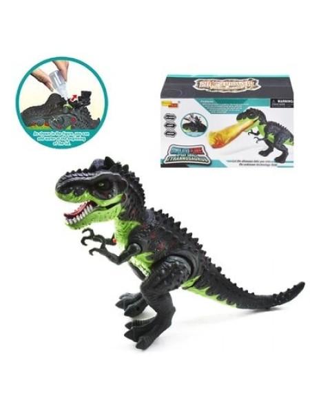 """Детская интерактивная игрушка"""" Динозавр"""" с рычанием и светящимися глазами + пар (6835)"""