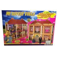 Детский игровой набор: Кукольный дом для кукол типа Барби 6983