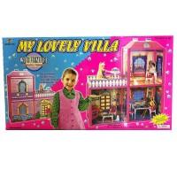 Детский игровой набор: Кукольный дом для кукол типа Барби 6984
