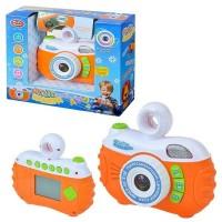 """Детская развивающая игрушка """"Фотокамера"""" со световыми и звуковыми эффектами (7540)"""