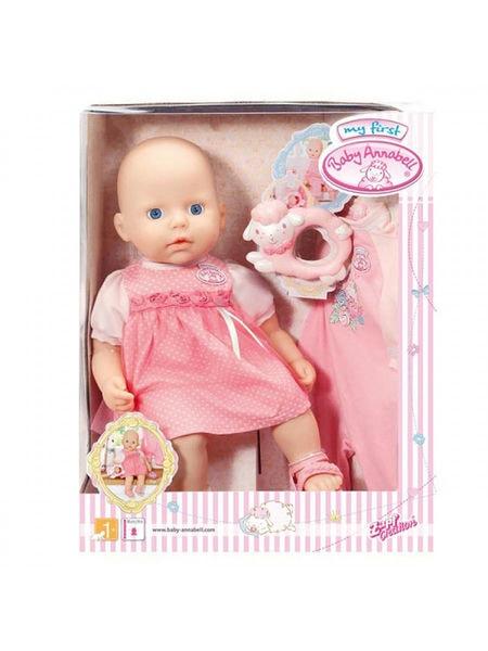 """Детская интерактивная Кукла Baby Annabell \ Бэйби Аннабель Zapf Creation """" Розовые ползунки """" 36 см. 794333"""