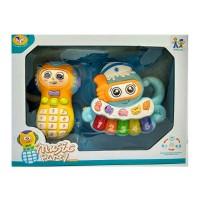 Развивающая игрушка: Телефончик и пианино (855-48А)