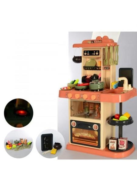 """Детский игровой набор """" Кухня """" 43 предмета со световыми и звуковыми эффектами + вода из крана 889-184"""