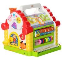 """Детская развивающая игрушка - сортер """" Теремок """"Play Smart 9196"""