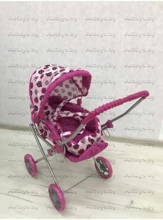 Детская коляска - люлька для кукол с корзиной 2 в 1 Melogo 9391 цвет: шарики