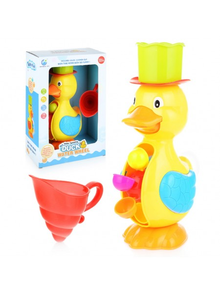 """Детская развивающая игрушка для купания """"Уточка """" (9902)"""