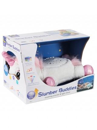 """Детская игрушка-ночник """"Единорожка"""" со световыми и звуковыми эффектами ( BB666-7 )"""