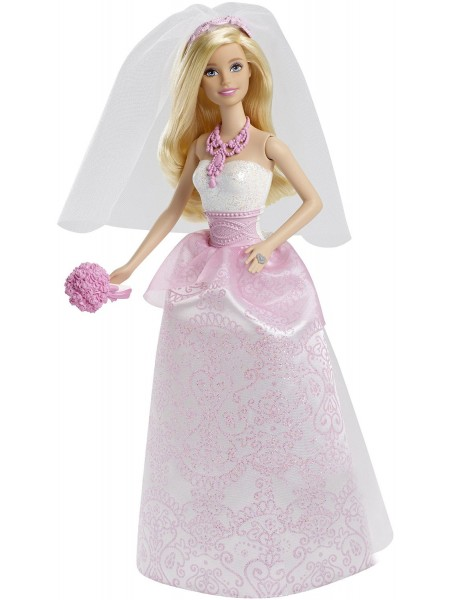 """Детский игровой набор Кукла Барби """" Сказочная невеста """" Barbie \ Барби Mattel \ Маттел CFF37"""