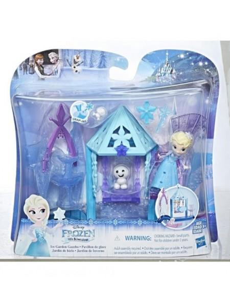 """Детский игровой мини-набор """" Эльза с домиком: Холодное сердце """" Hasbro \ Хасбро E0096"""