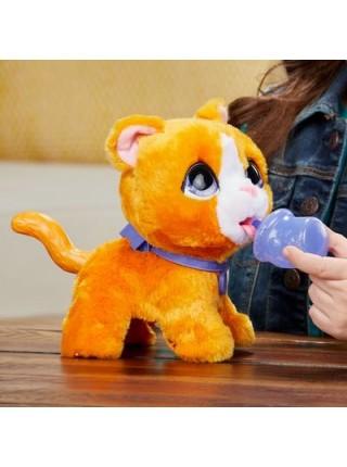"""Детская интерактивная игрушка """"Большой питомец на поводке Котик"""" Furreal Friends Hasbro (E8931)"""