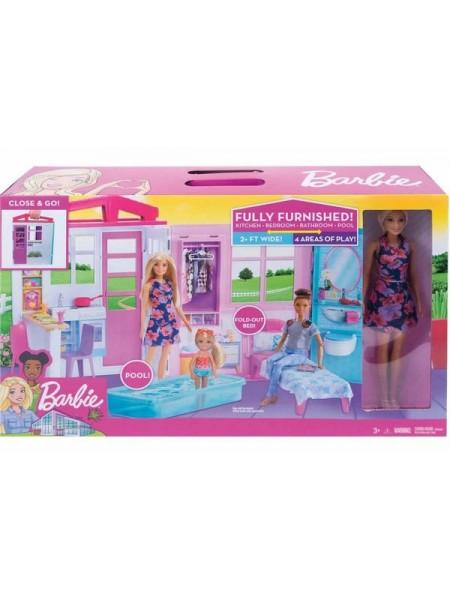 Детский игровой набор: Кукольный дом Барби\ Barbie Mattel \  FXG55