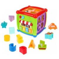 """Развивающая игрушка: интерактивный сортер-куб """"Fancy Cube""""(HE0520)"""