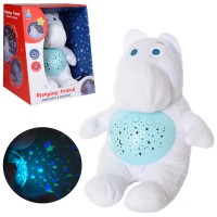 """Детская игрушка-ночник """"Бегемотик"""" со световыми и звуковыми эффектами ( JLD333-41A )"""