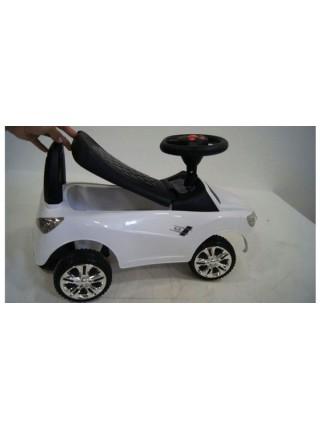 Детская машинка- толкачик с MP3 Audi JY-Z01A цвет: белый
