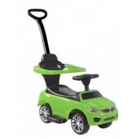 Детская каталка-толкачик с поворотной родительской ручкой BMW цвет: зеленый (JY-Z06B)