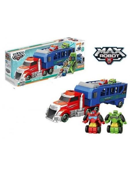 """Детский игровой набор """"Трейлер с трансформерами MAX Robot"""" (L017-22)"""