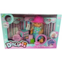 Детская музыкальная кукла 12см исполняет 12 мелодий LD9811B
