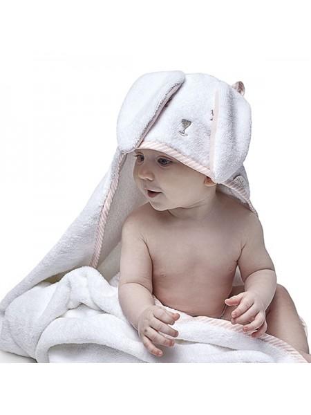"""Детское махровое полотенце """" Лапушка"""" 95*95 Perina цвет: розовый ПД-05.1.95"""
