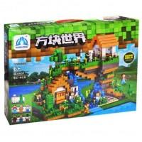 """Детский игровой набор конструктор """"Майнкрафт: домик на дереве""""/ Qunlong 957 деталей  QL0507"""