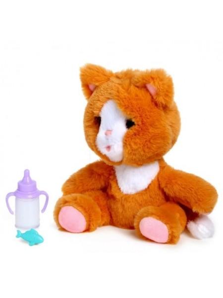"""Интерактивная игрушка """"Покорми котенка"""" цвет: рыжий (SS202212/CH-9903)"""