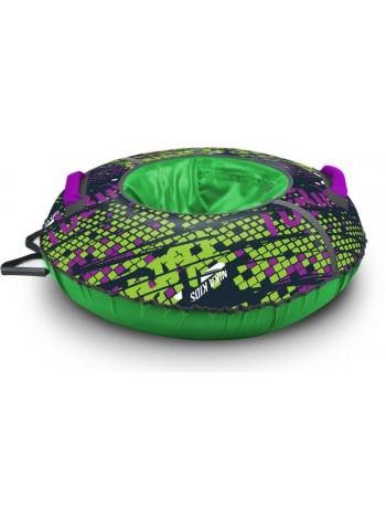 Детский тюбинг-ватрушка Nika Sport диаметр 95 цвет: фиолетовый