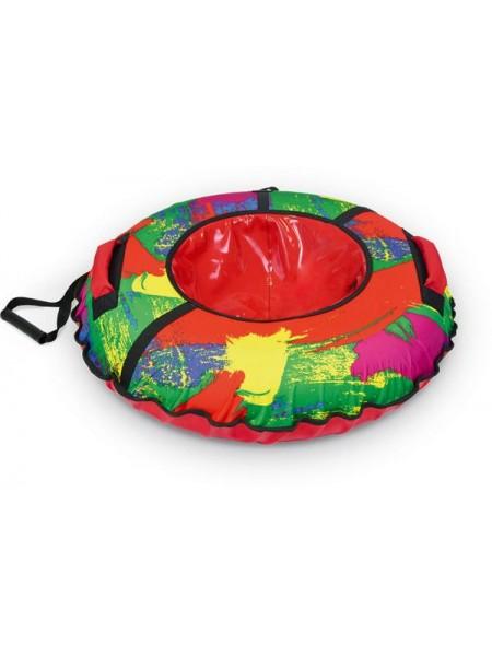 Детский тюбинг-ватрушка Nika диаметр 95 цвет: краски