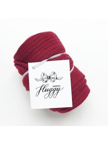 Детские колготки для малыша Huggy р. 105 цвет: бордо