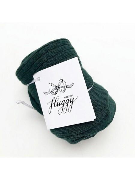 Детские колготки для малыша Huggy р. 105 цвет: изумруд