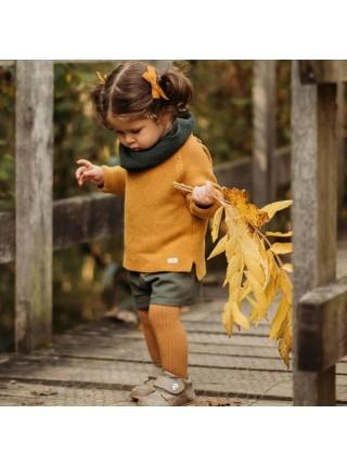 Детские колготки для малыша Huggy р. 105 цвет: карамельный