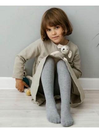 Детские колготки для малыша Huggy р. 105 цвет: серый