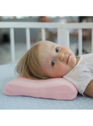 """Подушка детская с эффектом Memory Foam """" ЭРГО-СЛИП """" от 1 года до 5 лет Фабрика облаков FBD-0016"""