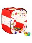 """Детский игровой домик-палатка + 100 шаров """" Куб """" Calida LI 622"""