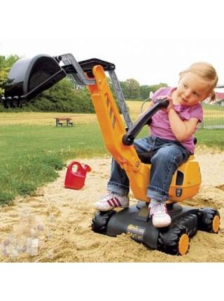Большой строительный экскаватор для детей Rolly Toys Digger 421008